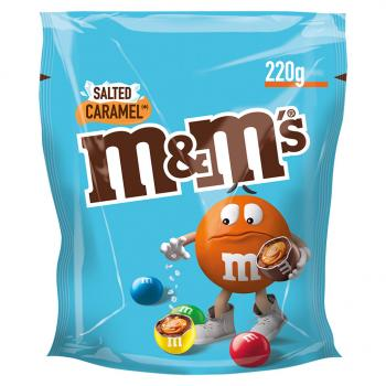 M&M's Salted Caramel 220g Limited Edition