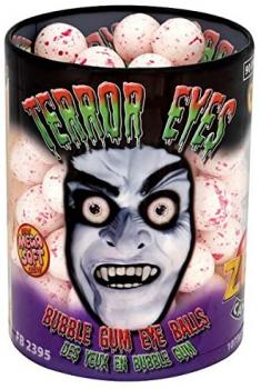 ZED Candy Bubble Gum Terror Eyes 90 Stück