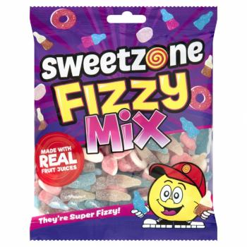 Sweetzone Fizzy Mix Bags 180g Saure Mix Mischung