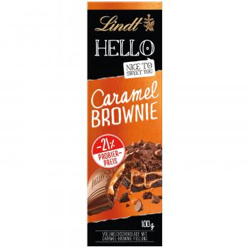 Lindt Hello Caramel Brownie 100g