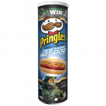 Pringles New York Hot Dog 200g Limited Edition mit Hot Dog Geschmack