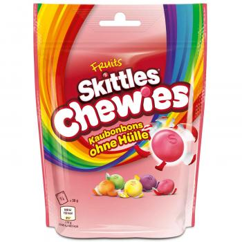 Skittles Chewies 152g Kaudragees ohne Hülle